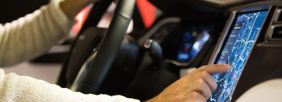 GPS véhicule électrique