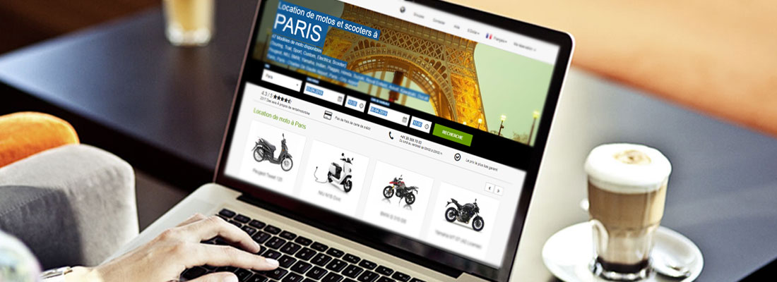 location de scooter a Paris