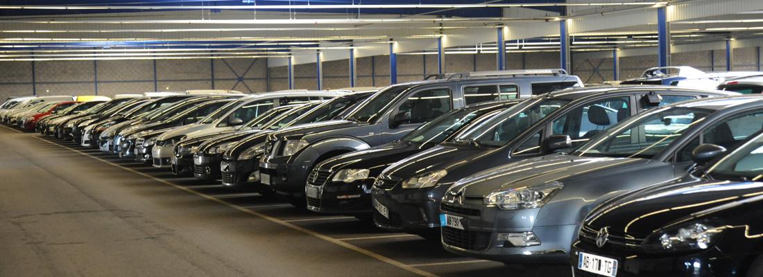 Vente aux enchères de voitures d'occasion